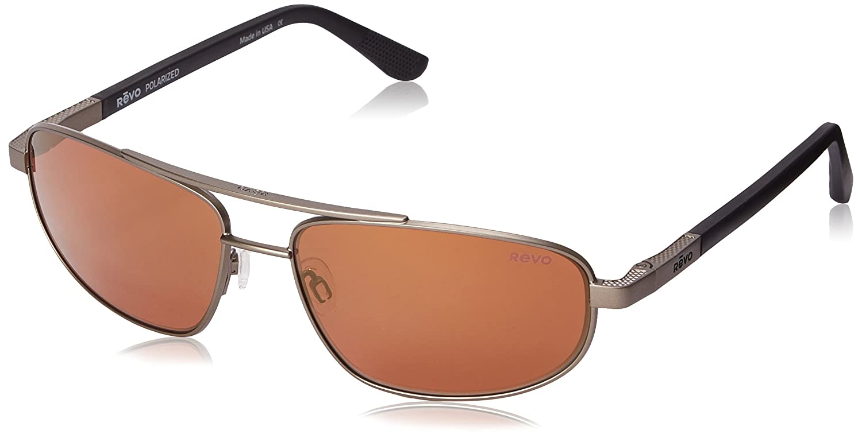 ff8799d3eaad Amazon.com  Revo Nash RE 1013 02 GBL Polarized Aviator Sunglasses ...