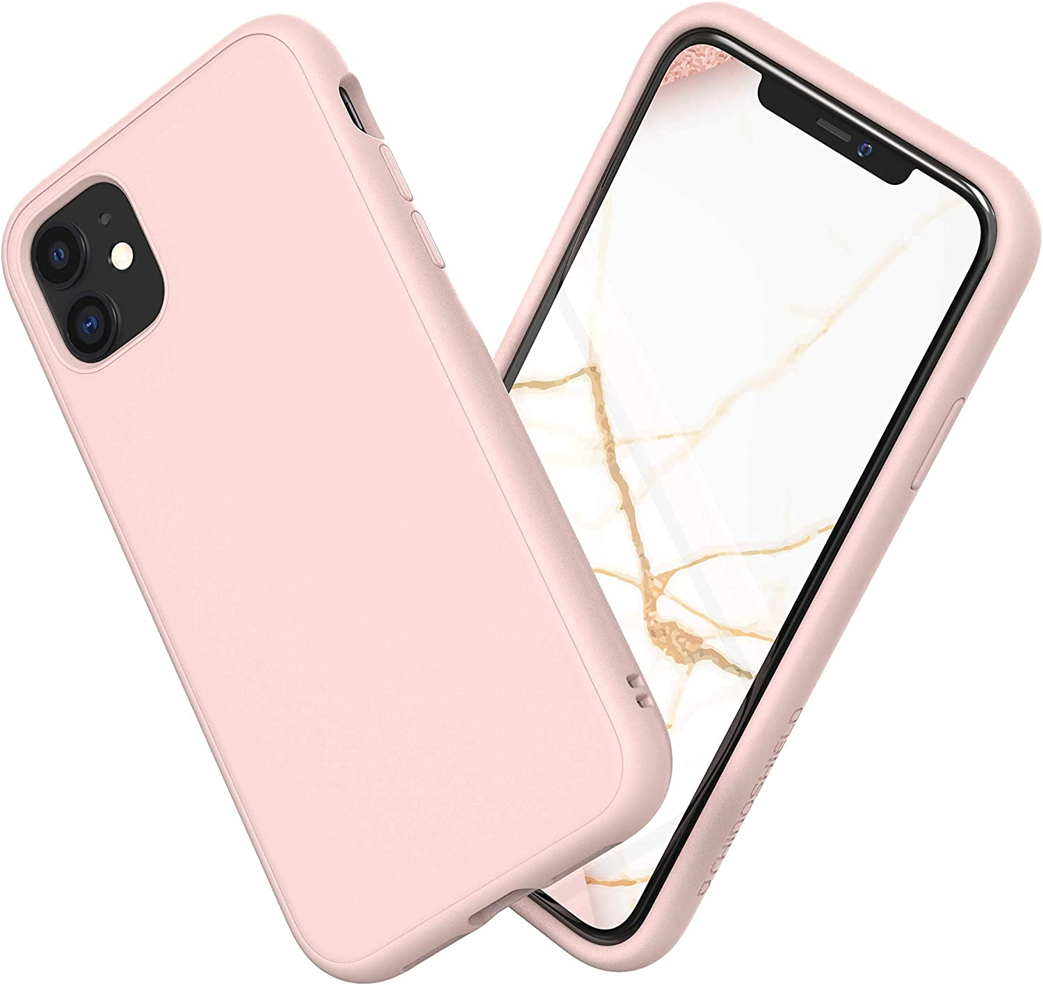 Amazon Com Rhinoshield Case Compatible With Iphone 11 Solidsuit Shock Absorbent Slim Design Protective Cover With Premium Matte Finish 3 5m 11ft Drop Protection Blush Pink