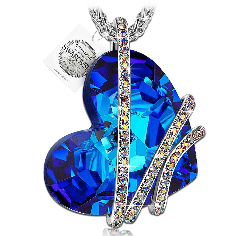 PAULINE MORGEN Amor Venecia Collar para Mujer fabricados con cristales SWAROVSKI y