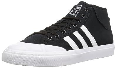 a08bfb7208b26 adidas Originals Men s Matchcourt Mid Running Shoe Black White