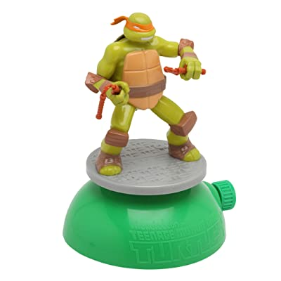Imperial Toy Teenage Mutant Ninja Turtle Spin and Spray Sprinkler: Toys & Games