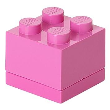 LEGO Lunch System Mini Caja 4, Panera, Caja de Pan, Rosa, RC40111739: Amazon.es: Hogar