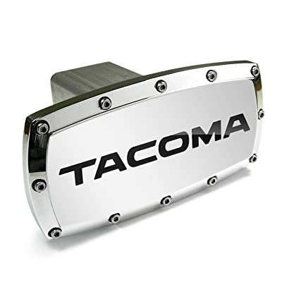 Toyota Tacoma Engraved Billet Aluminum Tow Hitch Cover: Automotive