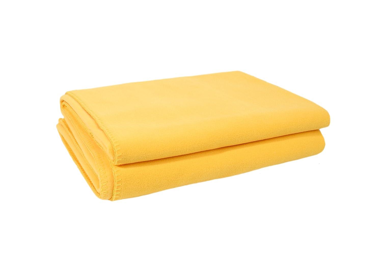 Zoeppritz Soft-Fleece Decke Corn, 160x200 cm