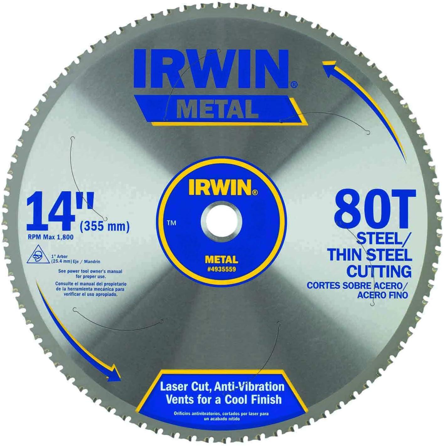 IRWIN 14 Inch Circular Saw Blade