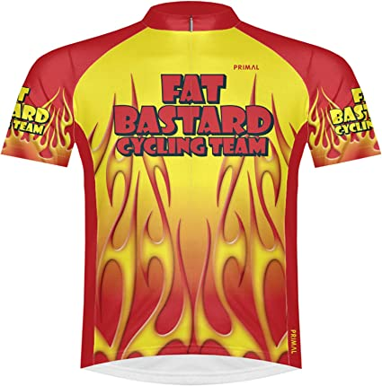 sox Primal Wear Fat Bastard Cycling Team Jersey Men/'s short sleeve bicycle bike
