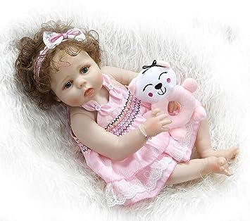 Amazon.es: Breeze Hermoso 23 Inch 57 cm Muñeca Bebé Reborn ...