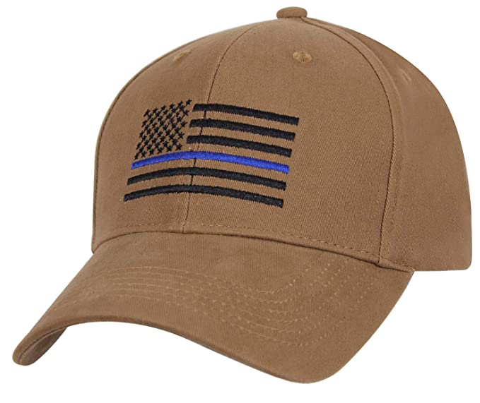 Amazon.com  Rothco Thin Blue Line Flag Low Profile Cap 980ca35c8af