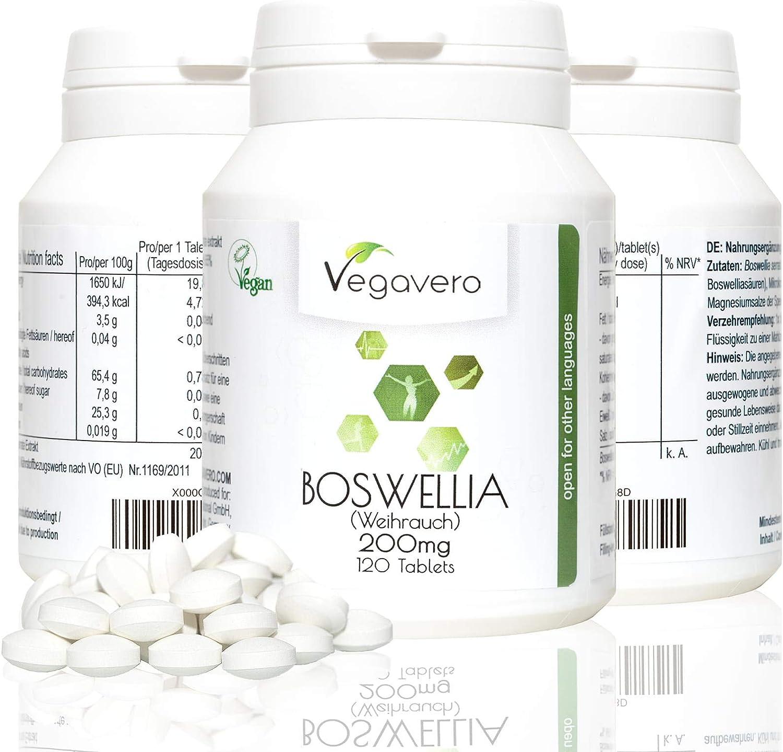 Extracto de BOSWELLIA serrata 200 mg, 65% de ácidos boswellic ...