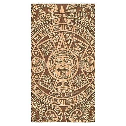 Hot diseño azteca calendario Maya suave toalla de cara toalla de playa toalla de ducha (