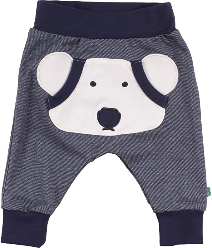 Freds World by Green Cotton Unisex Baby Bear Pants Hose