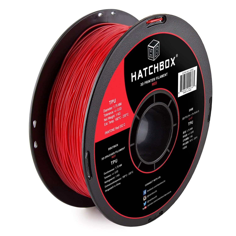 Dimensional Ac 0.8 Kg Sainsmart Red Flexible Tpu 3D Printing Filament 1.75 Mm
