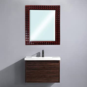 Buy Majik Wall Mirror For For Home Decor Wash Basin Mirror Pack Of 1 Code 1 Online At Low Prices In India Amazon In