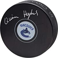 $42 » Quinn Hughes Vancouver Canucks Autographed Hockey Puck - Fanatics Authentic Certified - Autographed NHL Pucks