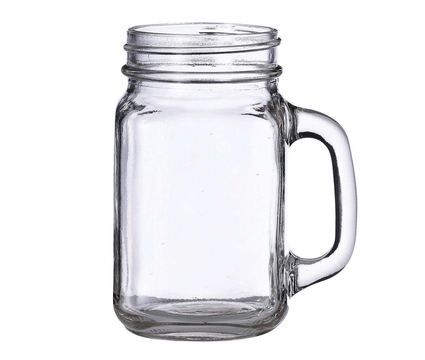 Lillian Rose Plain Rustic Country Mason Jar Mug G121