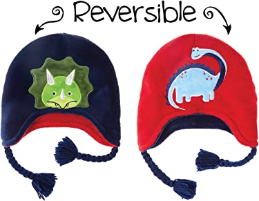 8764e9eb5 Amazon.com: FLAPJACKKIDS REVERSIBLES FOR KIDS: Winter Hats