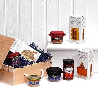 Gourmet Pâté Food Box Wooden Gift Hamper Gift Ideas For Valentines
