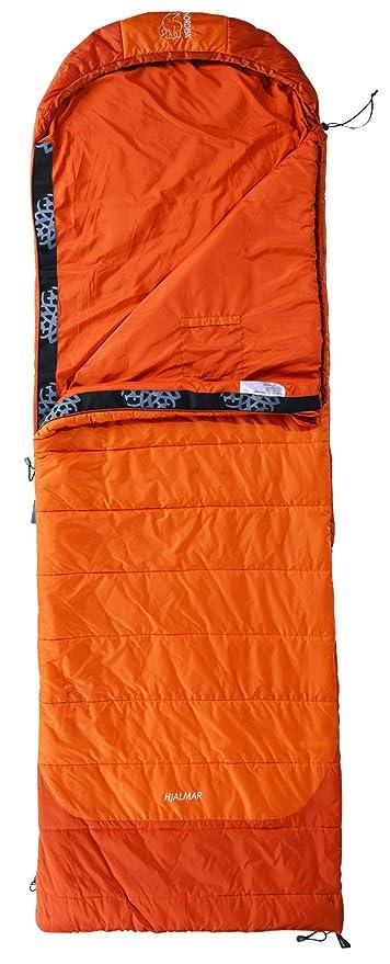 online retailer 62bb2 b3418 Nordisk Schlafsack Hjalmar LP 200, orange, rechts, 131028R
