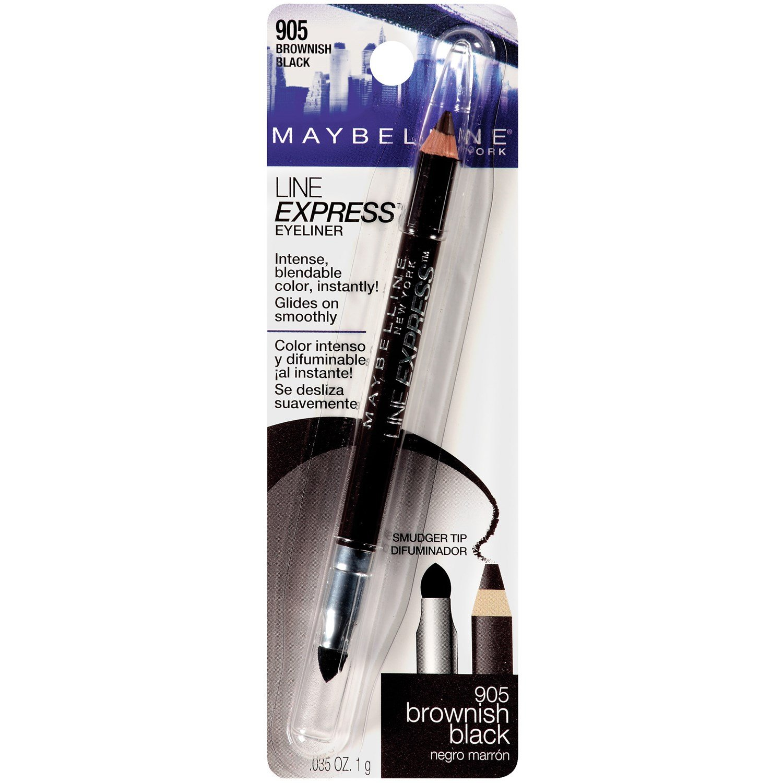 Amazon Com Maybelline New York Line Express Eyeliner Brownish Black 905 0 035 Oz Pack Of 2 Eye Liners Beauty