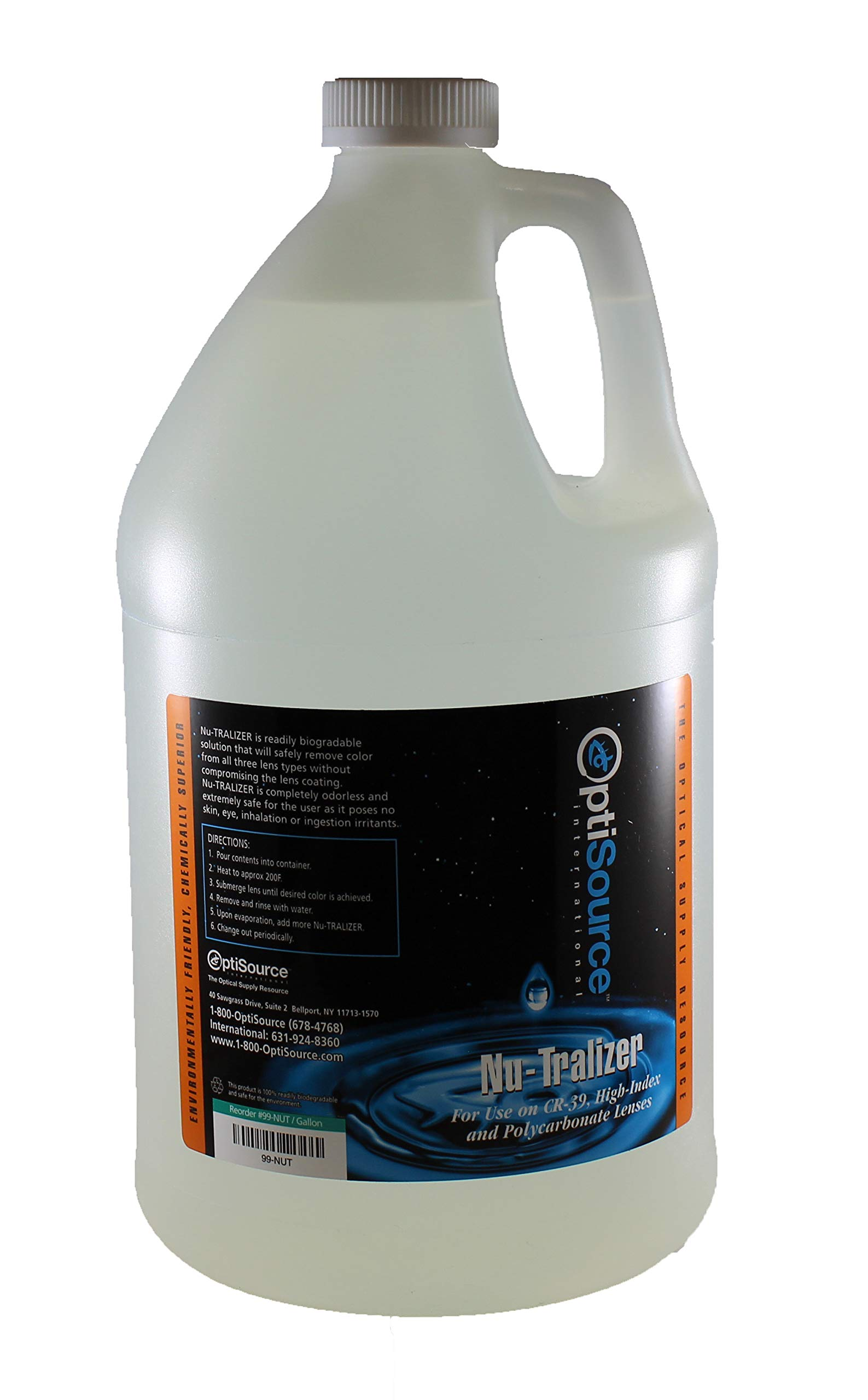 CR-39 Nu-Tralizer Gallon TEM: #99-CR - Takes color out of lenses, that other neutralizers can't
