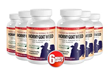 Amazon Com Organic Saw Palmetto Horny Goat Weed With Maca 1000mg