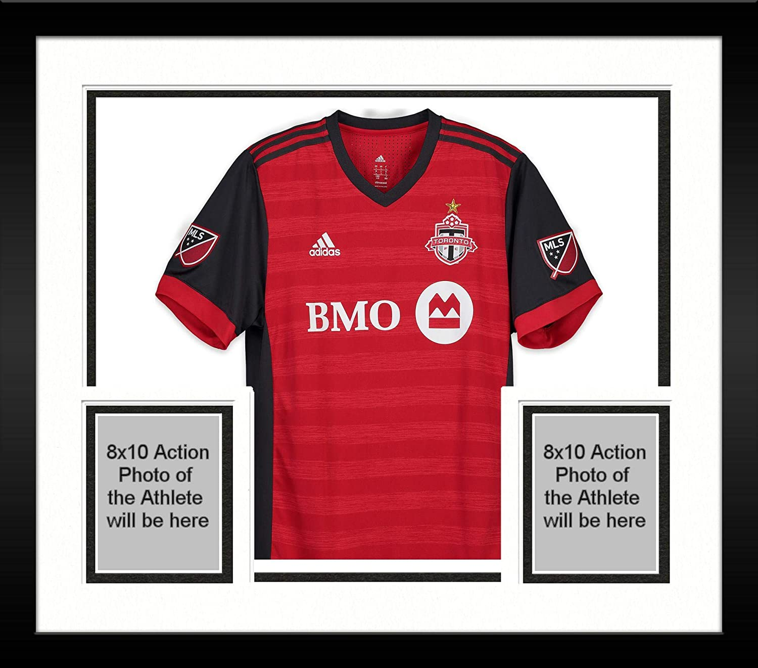 best service e7ca3 b63df Framed Michael Bradley Toronto FC Autographed Match-Used Red ...