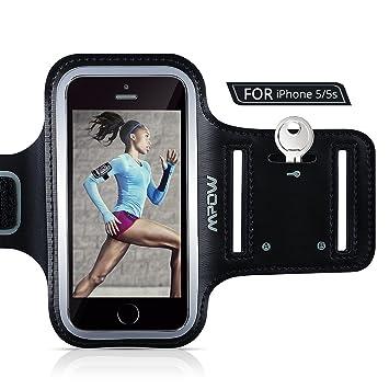 7d8d9466eb2 Brazalete Deportivo iPhone SE 5 5s 5c, Mpow Antideslizante Brazalete  Deportivo para Apple iPhone SE, 5, 5s, 5c Impermeable Correr: Amazon.es:  Electrónica