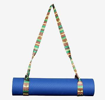 iRibit Fitness Premium Design Yoga Mat Carry Strap Sling