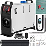 VEVOR Diesel Air Heater All in One,Muffler, 5KW Diesel Heater 12V,Fast Heating, Diesel Parking Heater with LCD Switch & Remot