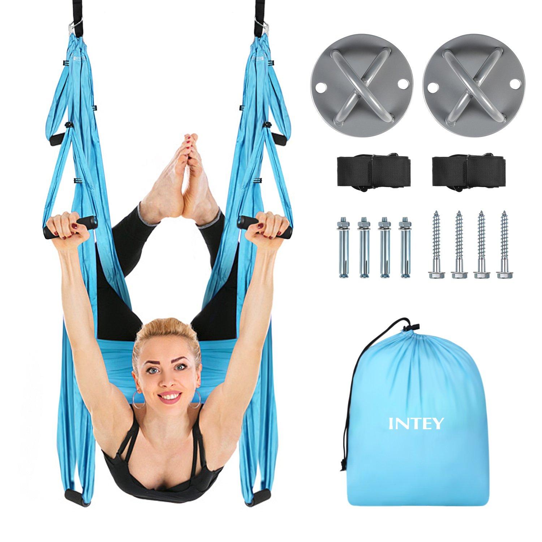 intey Yoga trapecio volador hamaca Sling Aerial Yoga Swing ...