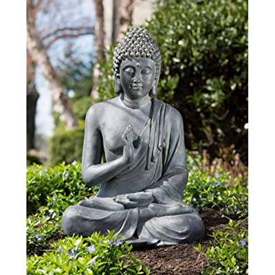 Alfresco Home Thai Buddha Garden Statue : Outdoor Statues : Garden & Outdoor