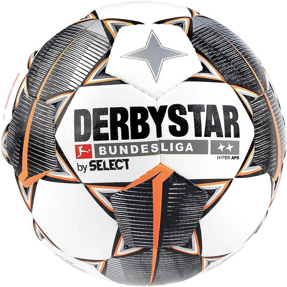 Derbystar Bundesliga Hyper APS - Balón de fútbol, Color Blanco ...