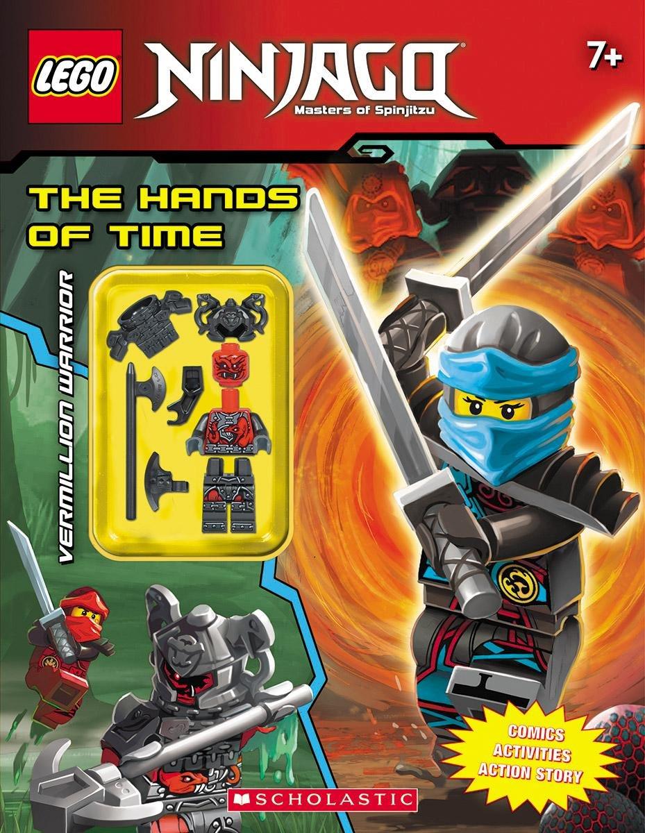 The Lego Ninjago Activity Book with Minifigure