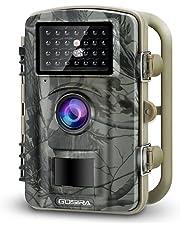 Gosira Camara de Caza 1080P 12MP HD 26pcs 940nm IR Invisible PIR Camara Vigilancia Sensor Movimiento