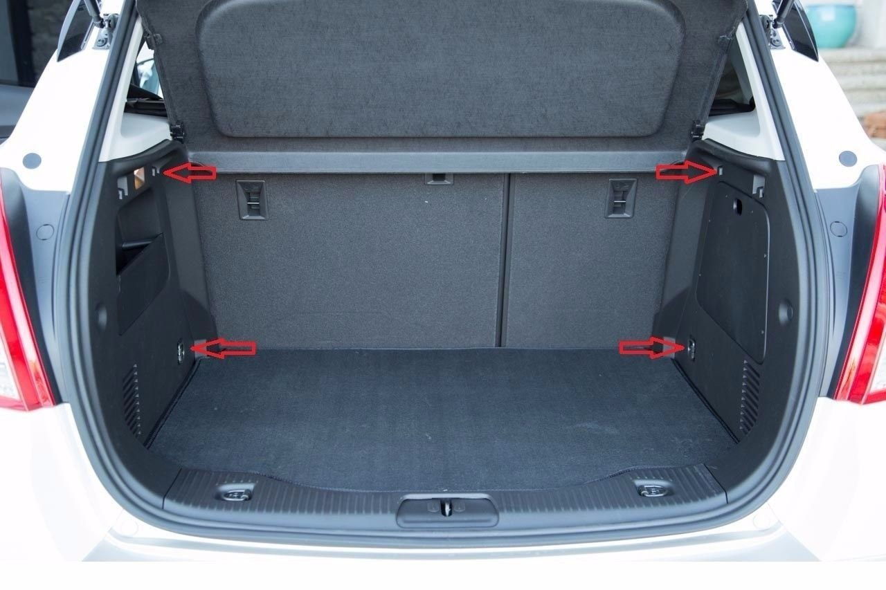 Envelope Style Trunk Rear Cargo Net for Chevrolet Trax 2013 2014 2015 2016 2017 2018 2019 New Trunknets Inc 5559013303