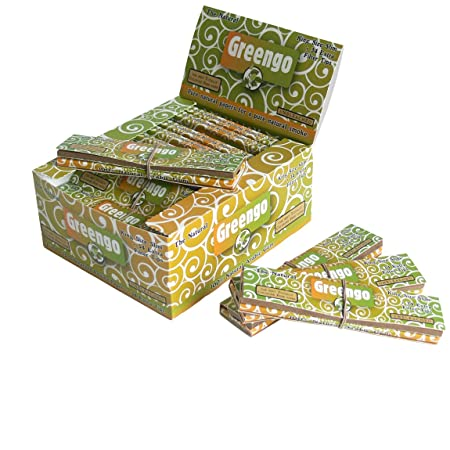 Greengo 2 in 1 Rolling Papers King Size Slim and Filter Tips