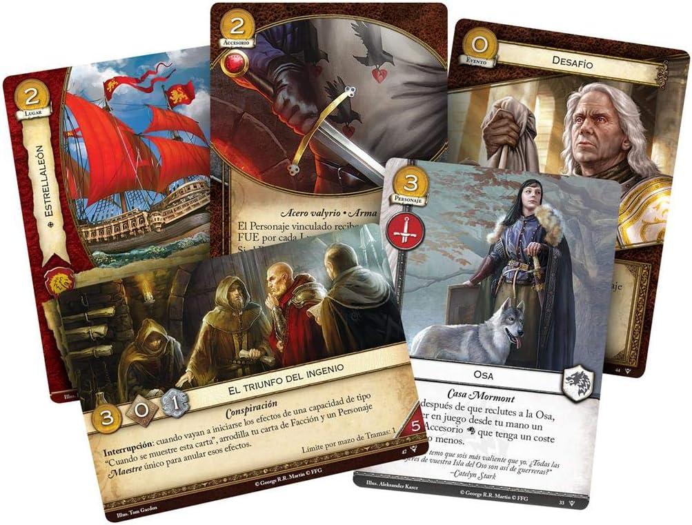 Fantasy Flight Games- Juego de Tronos LCG - Nido de víboras - Español, Color (GT48ES): Amazon.es: Juguetes y juegos