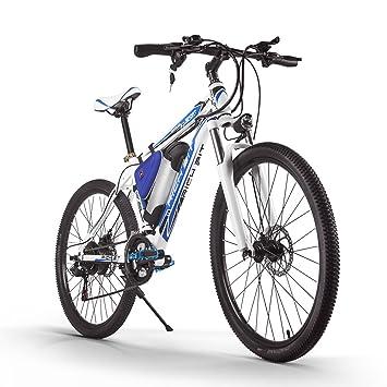 RICHBIT Bicicleta de Montaña Bicicleta Electrica 250W Motor Extraíble Batería de iones de litio extraíble Marco