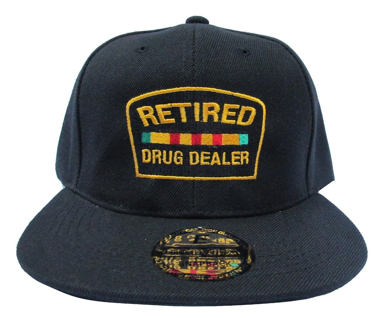 edad592d2b1 ... new zealand robstees retired drug dealer black streetwear adjustable snapback  hats caps at amazon mens clothing