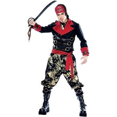 Amazon.com: Apocalypse Pirata Disfraz – Grande – Tamaño de ...