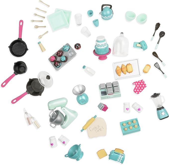 Amazon.es: Lori muñeca Mix & Bake Juego de Accesorios: Juguetes y ...