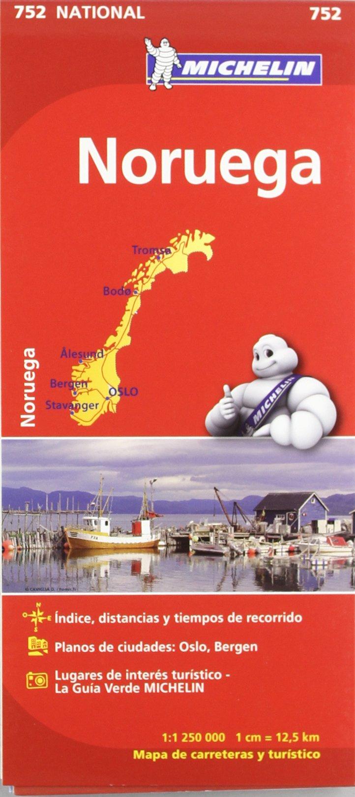 Mapa National Noruega (Mapas National Michelin) Mapa – 12 dic 2015 Vv.Aa 206717276X Norway Road atlases & maps
