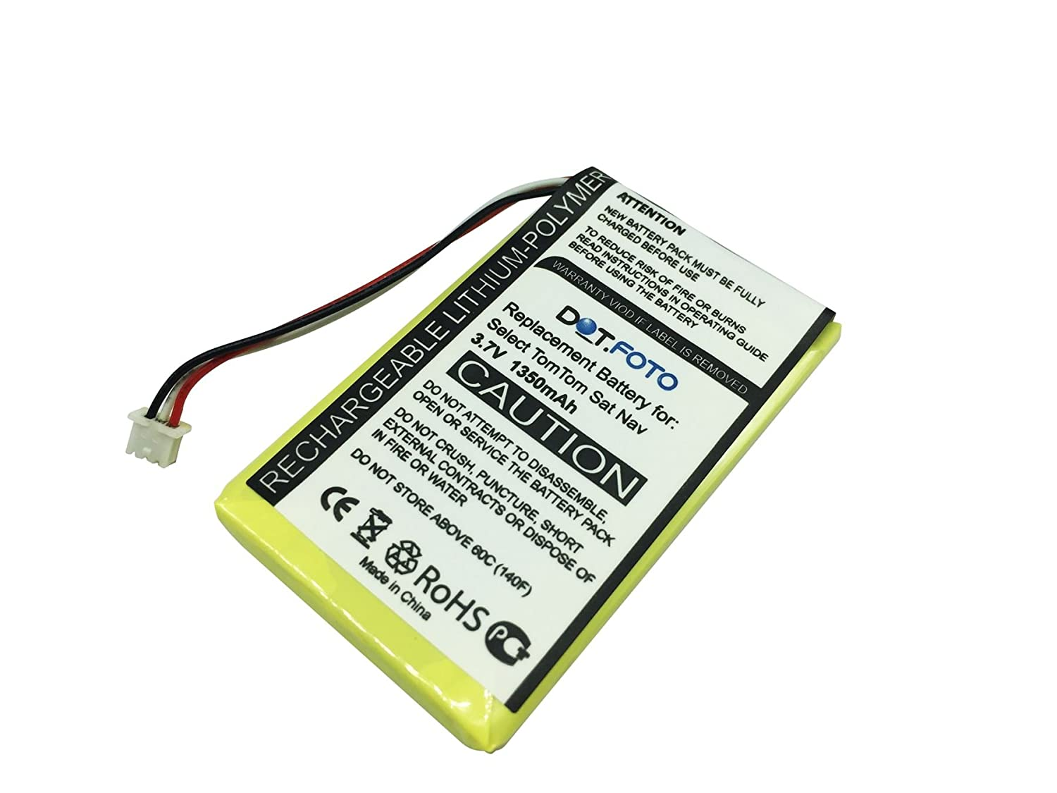 TomTom Go 730 Battery with Tools Kit 1300mAh, 3.7V, Lithium -Ion