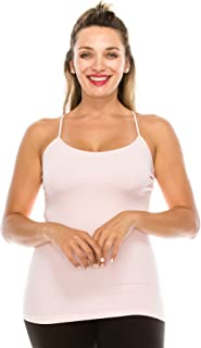 product image for Kurve Plus Size The Excellent Racerback Cami Tank Top, UV Protective Fabric UPF 50+ (Made with Love in The USA)