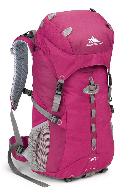 High Sierra Women's Piton 30 Internal Frame Pack, Boysenberry/Boysenberry/Ash [並行輸入品] B01JMI1M3Y