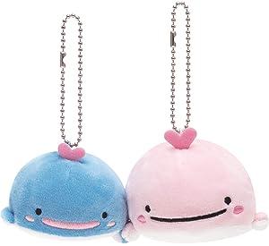 San-X JInbesan Whale Shark Stuffed Toy Plush Friend Whale