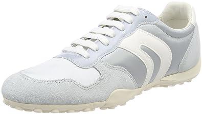 36 Geox Snake Azure A Basses Gris Sneakers Femme EU D 1Wgw1xrq8f
