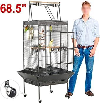 6 - Yaheetech Pet Bird Cage