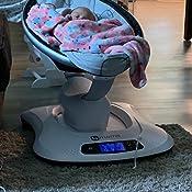 Amazon.com: 4Moms mamaRoo 4 Asiento de bebé clásico, Felpa ...