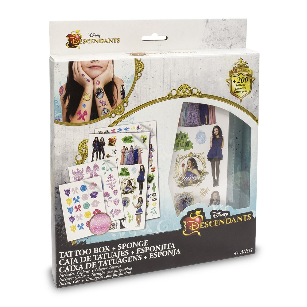 Descendientes - Premium Tattoos, set de joyería y maquillaje (Toy ...